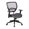 SPACE Air Grid Deluxe Task Chair, 20-1/2 x 19-1/2 x 42, Black