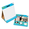 GoWrite! Dry Erase Table Top Easel Pad, 16 x 15, 4 10-Sheet Pads/Carton