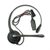 SupraPlus Monaural Over-the-Head Telephone Headset w/Noise Canceling Microphone