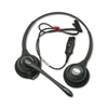 SupraPlus Binaural Over-the-Head Telephone Headset w/Noise Canceling Mic