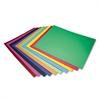 6-Ply Railroad Board in Ten Assorted Colors, 28 x 22, 100/Carton