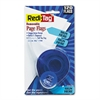 "Redi-Tag Arrow Message Page Flags in Dispenser, ""Sign Here"", Blue, 120 Flags/Dispenser"