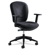 Rae Series Synchro-Tilt Task Chair, Black