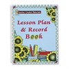Sunflowers Lesson Plan & Record Book With Weekly Planner, 160 Pages, 8-1/2 x 11