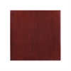 Flash Furniture 30'' Square High-Gloss Mahogany Resin Table Top with 2'' Thick Drop-Lip