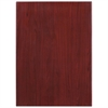 Flash Furniture 30'' x 42'' High-Gloss Mahogany Resin Table Top with 2'' Thick Drop-Lip