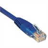 Tripp Lite N002-003-BL 3ft Cat5e 350MHz Molded Cable RJ45 M/M Blue, 3'