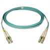 N820-01M 1M 3ft 10Gb Duplex MMF 50/125 LSZH Patch Cable LC/LC Aqua, 3'