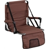 Folding Stadium Chair in Brown
