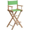 Bar Height Directors Chair in Green