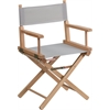 Standard Height Directors Chair in Gray