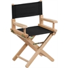 Flash Furniture Kid Size Directors Chair in Black