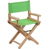 Flash Furniture Kid Size Directors Chair in Green
