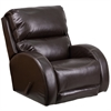 Flash Furniture Contemporary Ty Brown Leather Rocker Recliner