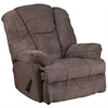 Flash Furniture Contemporary Hillel Pewter Chenille Rocker Recliner
