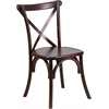HERCULES Series Fruitwood Cross Back Chair