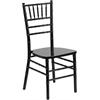 Flash Furniture HERCULES Series Black Wood Chiavari Chair