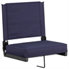 Game Day Seats® by Flash with Ultra-Padded Seat in Navy