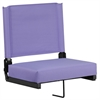 Game Day Seats® by Flash with Ultra-Padded Seat in Purple