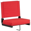 Flash Furniture Game Day Seats® by Flash with Ultra-Padded Seat in Red