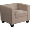 Flash Furniture Prestige Series FedExable Light Brown Microfiber Chair