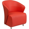 Flash Furniture Red Leather Reception Chair
