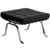 Flash Furniture HERCULES Flash Series Black Leather Ottoman