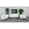 Flash Furniture HERCULES Regal Series Reception Set in White